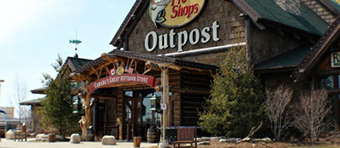 Bass Pro Outlet in Niagara on the Lake, Ontario