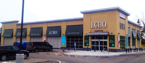 LCBO in Courtice/Midland, Ontario - 68 tons