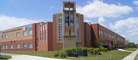 Loyola Catholic Secondary School in Mississauga, Ontario - 230 tons